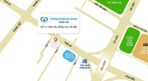 Bản đồ phòng khám